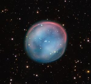 ESO 378-1: è stata catturata dal VLT (Very Large Telescope) dell'ESO nel nord del Cile. Crediti: ESO