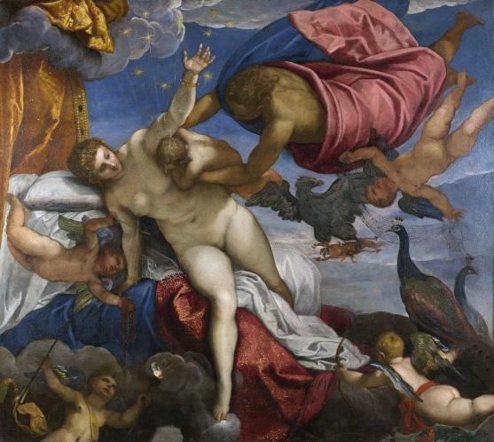 La creazione della Via Lattea, di Jacopo Tintoretto