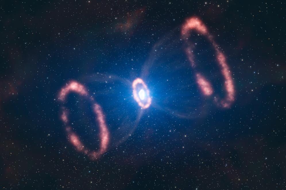 I resti di SN 1987a (ESO / L. Calçada)
