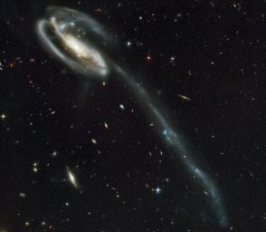 Galassia Girino, telescopio Hubble