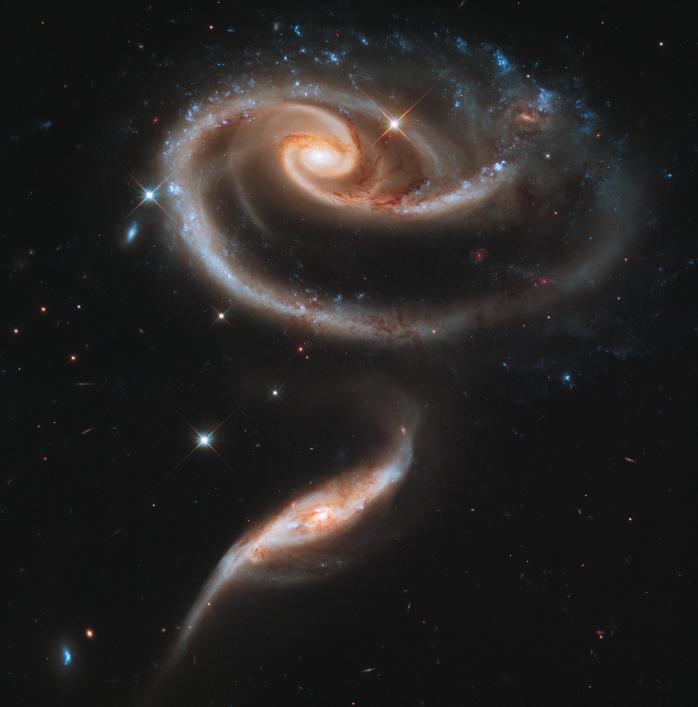 Galassie Rosa, telescopio Hubble