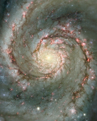 M51, telescopio Hubble