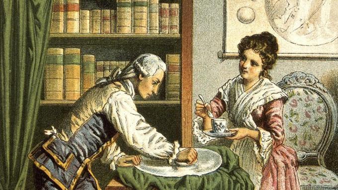 Willian e Caroline Herschel
